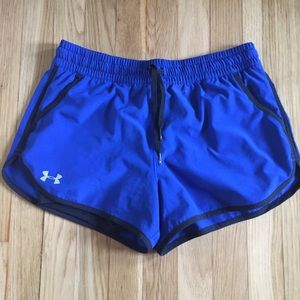 Underarmour Royal Blue Shorts with Spandex